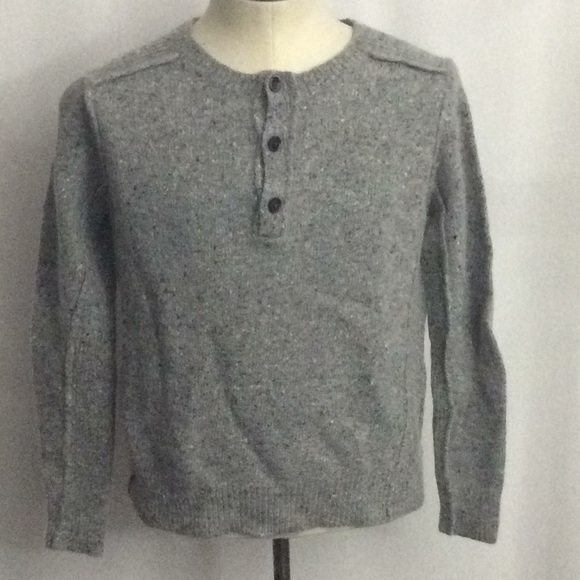 All Saints Other - All Saints Spitalfields Mens Sweater Gray Large